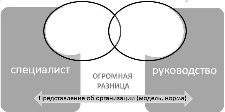 Диагностика организации-основное противоречие
