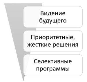 Структура стратегии центра стратегических разработок
