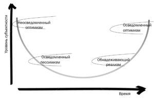 Изменения уровня субъектности консультанта по управлению