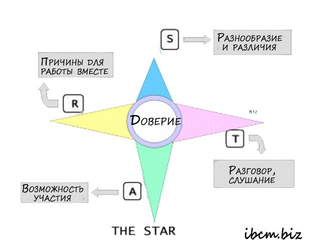 Star модель выстраивания отношений в команде