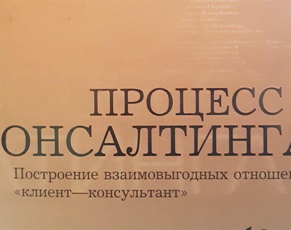 Управленческий консалтинг (Э.Шейн)
